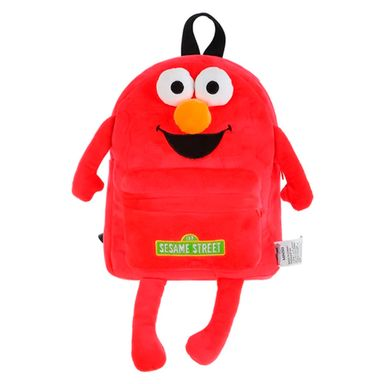Morral De Moda Figura Elmo, Sesame Street, Mediano, Rojo