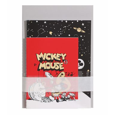 Libretas Encuadernadas, Mickey Mouse 24 Hojas 3Pzs, Disney, Multicolor