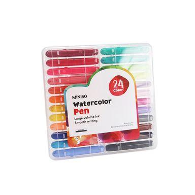 Paquete de 24 Plumones a base de agua, Mediano, Multicolor