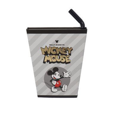 Libreta De Notas, Con Forma De Taza, Mickey Mouse Con Esfero, 120 Hojas Disney, Pequeña