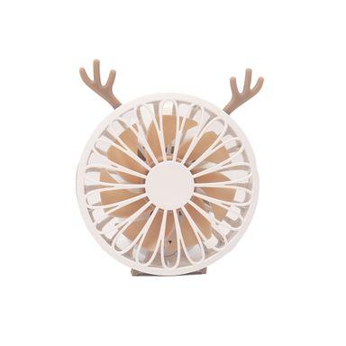 Mini Ventilador Mediano, Rosa